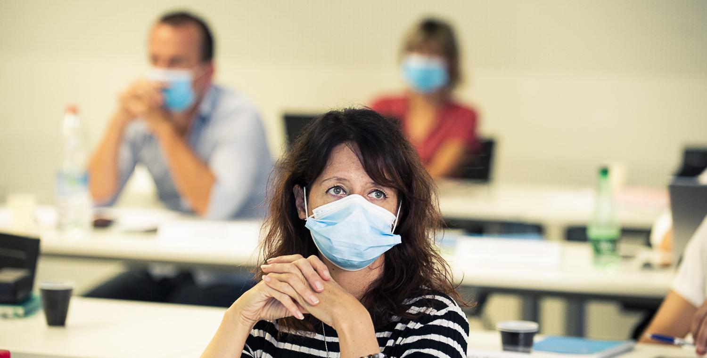 Les mesures sanitaires à l'INET