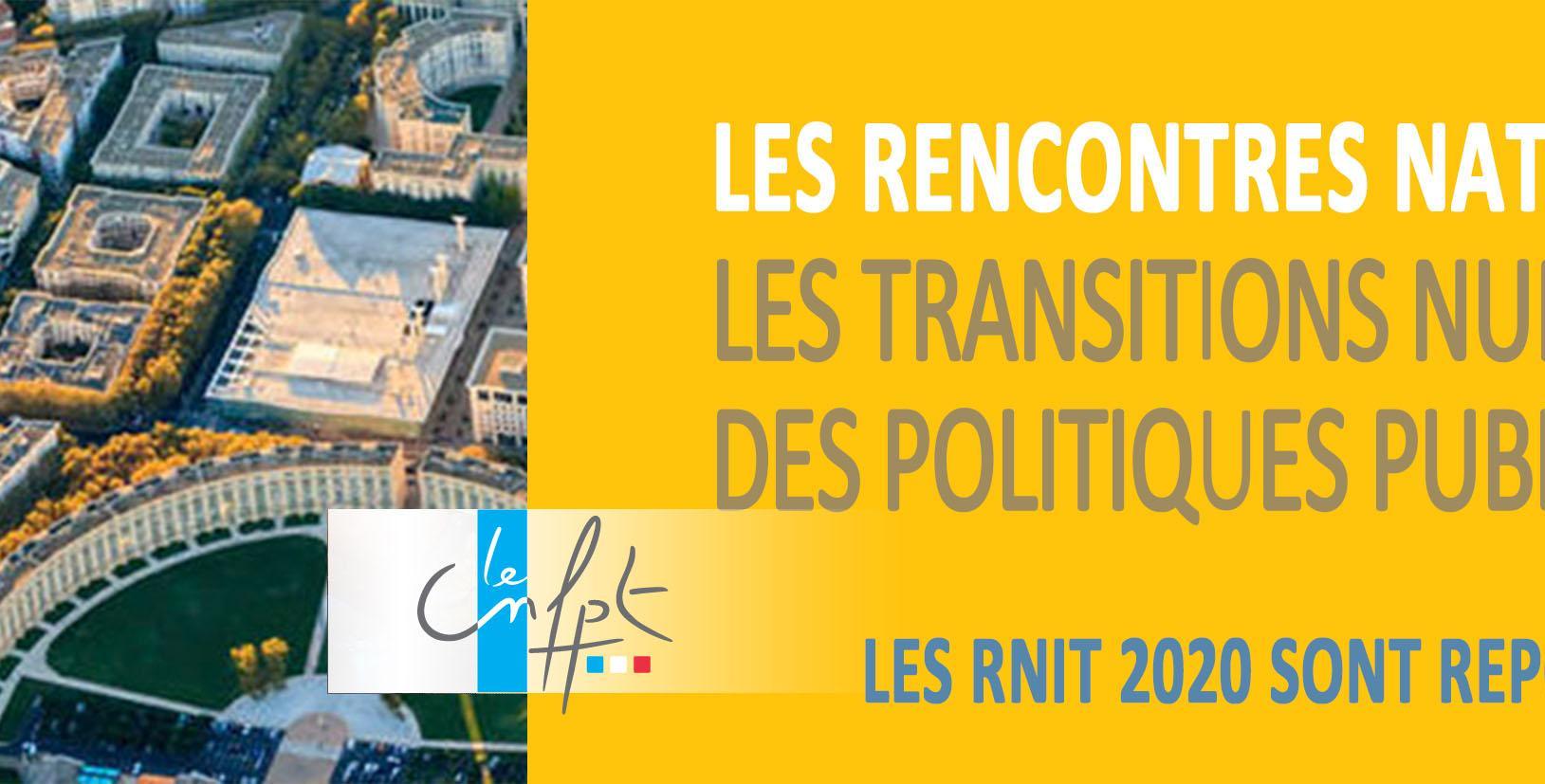 Les Rencontres Nationales de l'Ingénierie Territoriale (RNIT) 2020