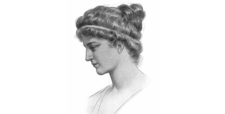 Portrait d'Hypatie d'Alexandrie, par Jules Maurice Gaspard